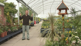 RK Alker Author TV Series I've Lost The Plot at a large garden centre
