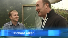 RK Alker Author as Richard Alker The Chilliman with Dean Sullivan on ITV1 My North West for Press Media TV