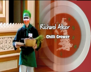 Chilli Cooking Images of RK Alker Author as Richard Alker The Chilliman on ITV1 Britains Best Dish for Press Media TV