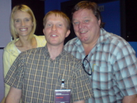 Ted Robbins, Pilkers and Richard Alker The Chilliman from Little Green Men on Radio Lancashire
