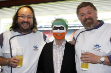 The Chilli Man from LIttle Green Men with The Hairy Bikers