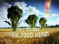 RK Alker Author as Richard Alker The Chilliman on Gary Rhodes UKTV Local Food Heroes