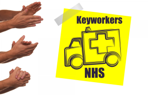 Emergency 999 Ambulances Applause for Keyworkers NHS by RK Alker Children's Author Cook Grower Food Evangelist 999 Ambulance